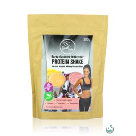 Szafi Free barna rizscsíra-fehérjepor protein shake karobos alappor 300 g (gluténmentes)