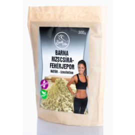 Szafi Free barna rizscsíra-fehérjepor natúr - ízesítetlen 300 g – Natur Reform