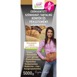 Szafi Reform Paleo szénhidrát-csökkentett kenyér és péksütemény lisztkeverék 5000 g