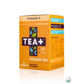 TEA+ C-vitamin Ginseng, Echinacea & D-vitamin (100% NRV C-VITAMIN)