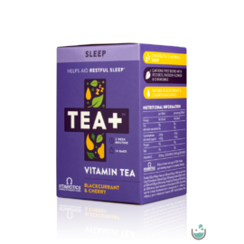TEA+ Sleep Golgota virág, Kamilla & Levendula (Magnézium, C-VITAMIN)