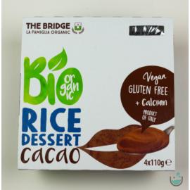 The Bridge bio kakaós rizs desszert 4x110 g