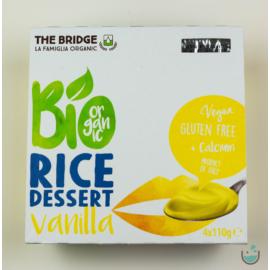 The Bridge bio vaníliás rizs desszert 4x110 g