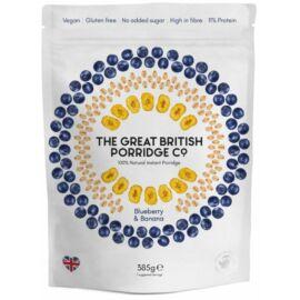 The Great British Porridge Áfonya & banán ízű instant zabkása 385 g – Natur Reform