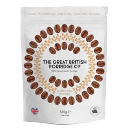 The Great British Porridge Caffé latte ízű instant zabkása 385 g – Natur Reform