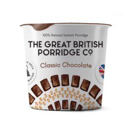 The Great British Porridge Csokoládés poharas instant zabkása (gluténmentes) 60 g