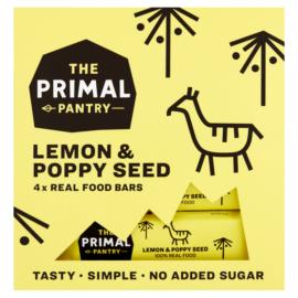 The Primal Pantry Citrom-mák ízű multipack (4x30g)