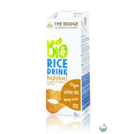 A rizs és mogyoró nem mindennapi párosítása.