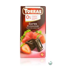Torras Epres vegán étcsokoládé hozzáadott cukor nélkül (gluténmentes) 75 g