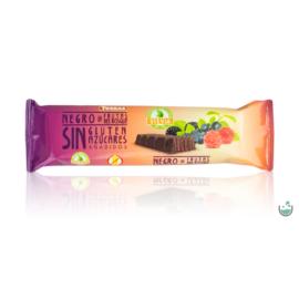 Torras Erdei gyümölcsös vegán étcsokoládé hozzáadott cukor nélkül (gluténmentes) 35 g