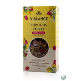 Viblance ropogós müzli málna & chia 300 g – Natur Reform