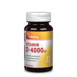 Vitaking D3-Vitamin 4000NE – 90 db – Natur Reform