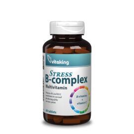 Vitaking Stressz B-komplex multivitamin - 60 db – Natur Reform