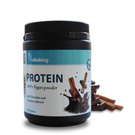 Vitaking Vegan Protein 400 g (Csoki-Fahéj)