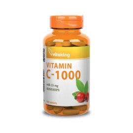 Vitaking 1000 mg C-vitamin csipkebogyóval - 100 db