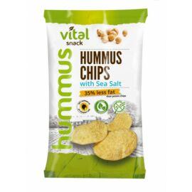 VitalSnack Hummus chips tengeri sóval 65 g