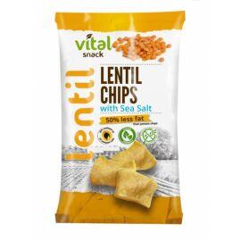 VitalSnack Lencse chips tengeri sóval 65 g – Natur Reform