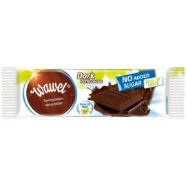 Wawel Étcsokoládé hozzáadott cukor nélkül, édesítőszerrel 70 % 30 g