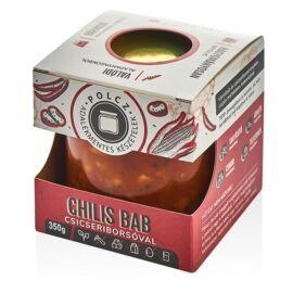 Polcz Chilis bab csicseriborsóval (vegán) 350 g