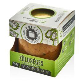 Polcz Zöldséges lencseragu (vegán) 350 g