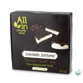 ALL IN natural food Csokoládés torta (fagyasztott) 800 g