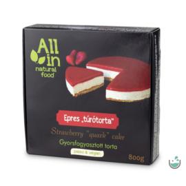 ALL IN natural food Epres torta (fagyasztott) 800 g