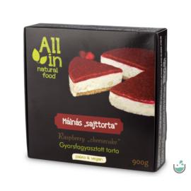 ALL IN natural food Málnás torta (fagyasztott) 900 g