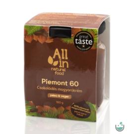ALL IN natural food Piemont 60 Csokoládés Mogyorókrém 180 g
