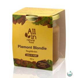 ALL IN natural food Piemont Blondie Mandulás Nugátkrém 180 g