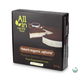 ALL IN natural food Piemonti mogyorós torta (fagyasztott) 900 g