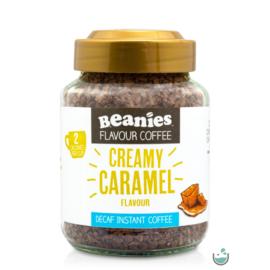 Beanies Krémes karamella ízű koffeinmentes instant kávé 50 g – Natur Reform