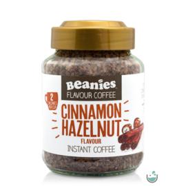 Beanies Fahéjas- mogyoró ízű instant kávé 50 g – Natur Reform