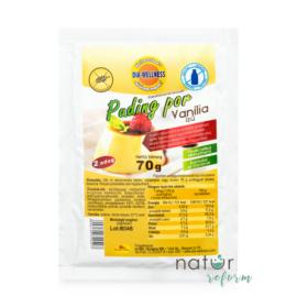 Dia-Wellness Vanília ízű pudingpor 70 g - Natur Reform