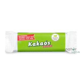 Health Market Kakaós-rumos szelet étcsokoládéval mártva (gluténmentes, vegán) 30 g