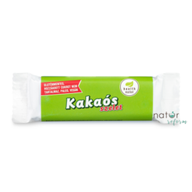 Health Market Kakaós-rumos szelet étcsokoládéval mártva 30 g – Natur Reform