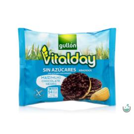 Gullón Vitalday - gluténmentes csokoládés kukoricaszelet 25 g – Natur Reform