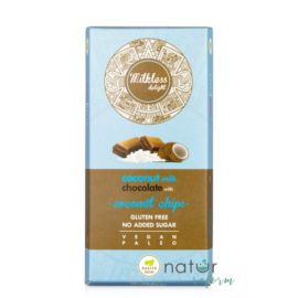 Health Market Milkless Delight Kókusztejes csokoládé kókuszchipsszel 80 g