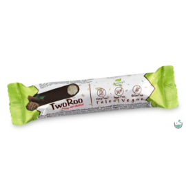 Health Market TwoRoo Citrom-vanília ízű szelet étcsokoládéba mártva 30 g – Natur Reform