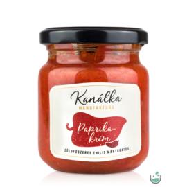 Kanálka Zöldfűszeres paprikakrém chilivel  (gluténmentes) 195 g