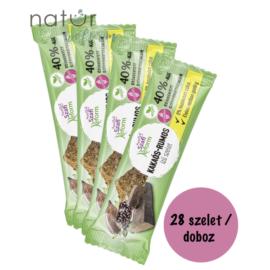 Szafi Reform Kakaós-Rumos ízű szelet kínáló 28x25 g