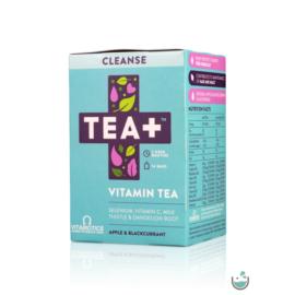 TEA+ Cleanse Máriatövis & Pitypang gyökér (Szelén, C-VITAMIN)