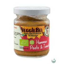 VeggieBel Vegán Bio Hummusz Pestoval 115 g – Natur Reform
