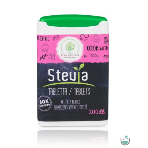 Éden Prémium Stevia tabletta 200 db – Natur Reform