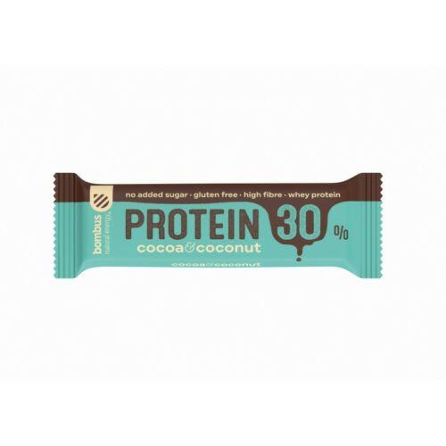 Bombus Kakaós-kókuszos fehérjeszelet édesítőszerrel 50 g