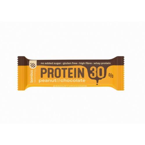 Bombus Földimogyorós fehérjeszelet édesítőszerrel 50 g