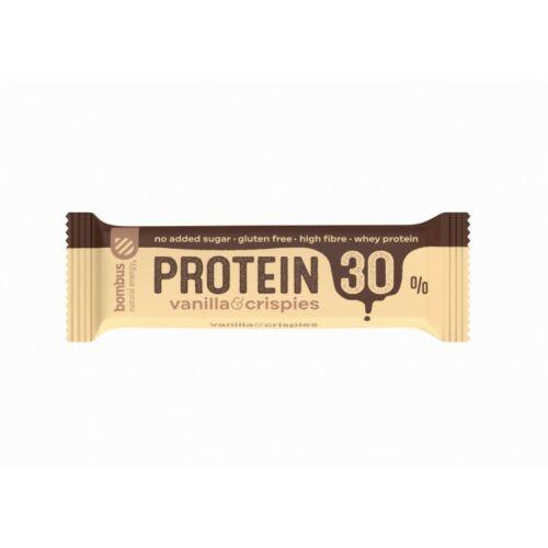 Bombus Vanília ízesítésű fehérjeszelet édesítőszerrel 50 g