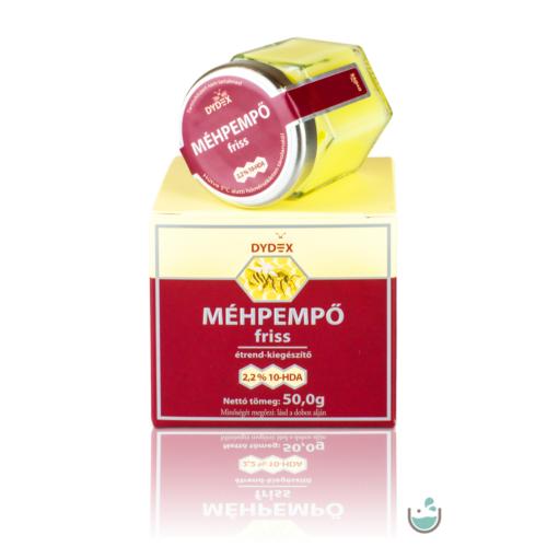 Dydex 100% tisztaságú friss méhpempő 50 g
