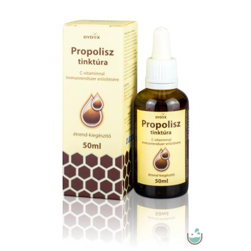 Dydex Propolisz tinktúra C-vitaminnal 50 ml (alkoholos)