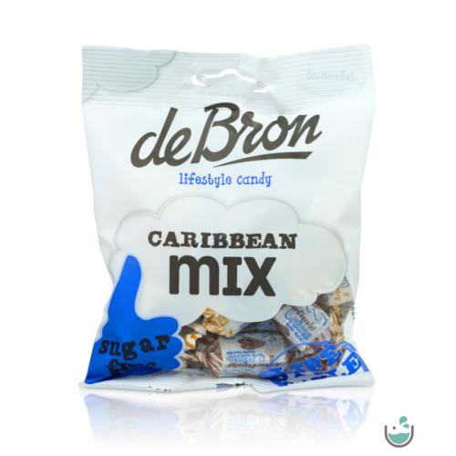 DeBron glutén- és cukormentes Karibi-mix karamella válogatás 90 g – Natur Reform