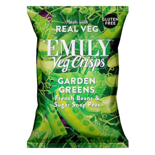 Emily Zöldség chips – Kerti zöldségek 23 g – Natur Reform